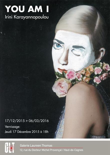 galerie Laureen Thomas - Flyer Irini Karayannopoulou