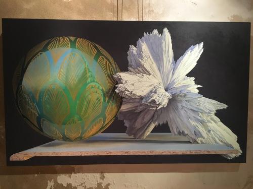 Julien Boily - Manhattan soleil levant - 168x100cm
