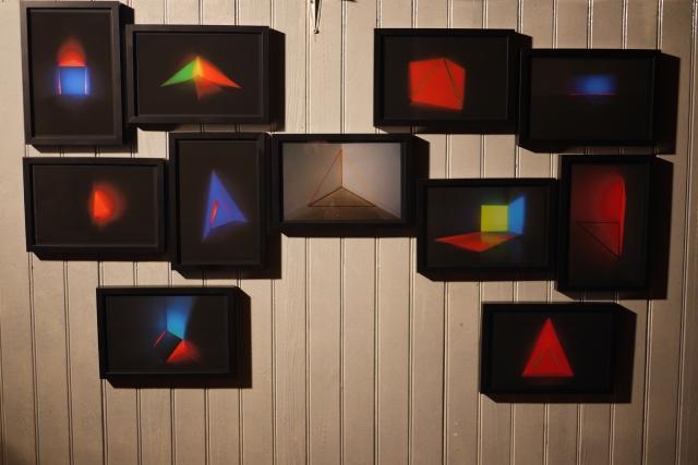 Photos documentaires installations31,7X22,8cm